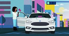 Ford To Deploy Self-Driving Vehicles With Lyft #Autonomous #Ford