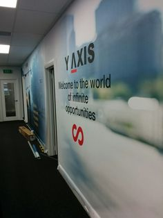 With Sign & Fitouts, you can choose a custom wallpaper with a textured finish or a matte finish Custom Wallpaper, It Is Finished, Signs, Shop Signs, Sign
