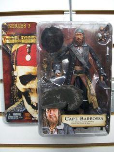 """Neca - Piratas del Caribe """"La maldición de la perla negra"""" - Serie 3 - Capitan Barbossa"""