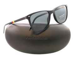 Amazon.com: Polo Ralph Lauren Men's Ph4064 Square Sunglasses,Shiny Black,54 mm