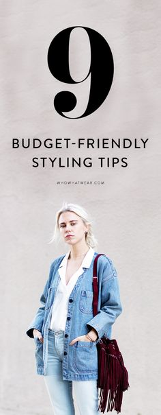 Don't let your budget stifle your style