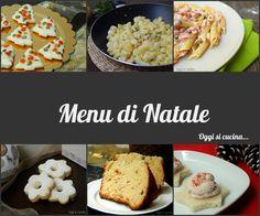 Menu di Natale http://blog.giallozafferano.it/oggisicucina/menu-di-natale/