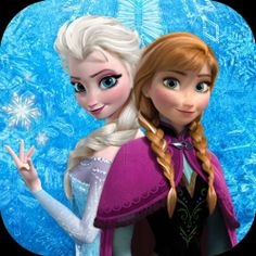 I've got the chills for Frozen! We've got yet another gorgeous animated movie from Disney and two fun girly characters, Anna and Elsa to help...