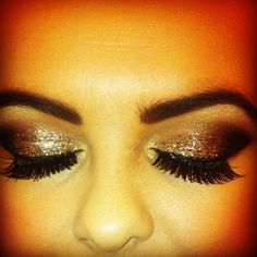 Pretty eye make-up
