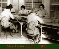 Gallery – Makeup Mirror – Women of the 1920′s. Max-Factor-Studio-1928-Highland-Avenue-Hollywood-museum.