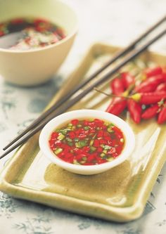 Vietnamese Chili Dip Recipe From Asian Appetizers By Vicki Liley (New Asian Cuisine)