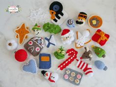 Hey there and Merry Christmas! Here you'll find a master list of the ornaments as they are released in one handy place – neat, huh? I've teamed up withLion Brand Yarn to bring you an extra special kit with all the yarn you need to make this entire crochet-a-long – along with all 25 ornamentRead More