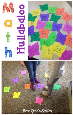 Fun game to play to practice place value, greater than/less than, or even just number recognition