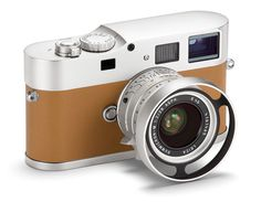 """Gahhh, such a gorgeous camera! the M9-P """"Hermes Edition"""" by Leica."""