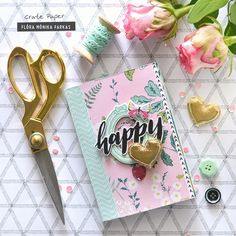 Hi there! It's Flóra here. Today I am sharing a pretty mini album with some tips made with new Crate Paper goodies. One year ago we had fu...