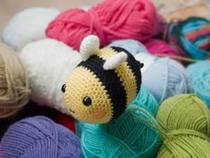 Amigurumi Bumblebee  Crochet Pattern by AmigurumiWizard on Etsy, $3.75