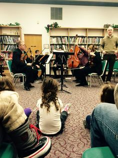 Kidstuff - Lima Symphony Orchestra @ Library - Awesome!!!