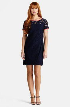 a79a349d9f03 Donna Morgan Lace Shift Dress available at  Nordstrom Donna Morgan