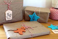 Hello Beautiful: Fimo Gift tags