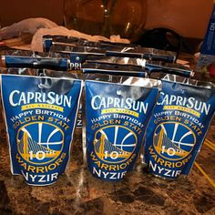 NYDIRAH added a photo of their purchase Custom Bags, Custom Labels, Favor Bags, Treat Bags, Basketball Party Favors, Golden State Warriors Basketball, Golden Birthday, Chip Bags, Toy Story Party