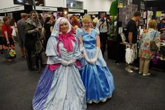 Cinderella and her Fairy God Mother!