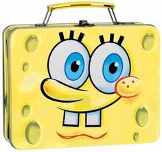 Spongebob Squarepants Lunch Bag and Lunch Box - Cool Stuff to Buy and Collect Metal Lunch Box, Metal Box, Pretty Backpacks, Nickelodeon Spongebob, Pixel Drawing, Back To School Backpacks, Out To Lunch, Cute Room Decor, Spongebob Squarepants