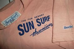 For the first time, women will take part in Mavericks surfing competition Vintage Surf, Vintage Tees, Surfer Style, Hang Ten, Slogan Tee, Surfs Up, Vintage Labels, Cool T Shirts, Vintage Outfits