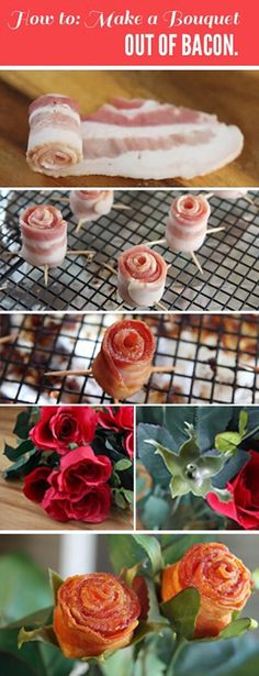 How To Make A Bouquet Out Of Bacon