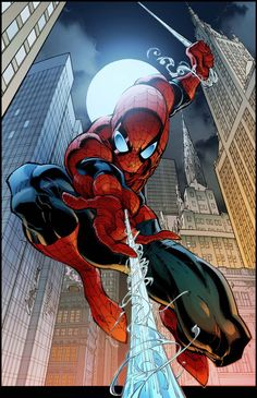 Spider Man Cover 7 By Timtownsend-Colored by royhobbitz on DeviantArt