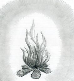 How To Draw Flames  http://www.easy-drawings-and-sketches.com/draw-flames.html