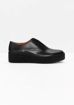 & Other Stories | Leather Flatforms