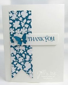Twitterpatted DSP with Curly Cute sentiment - Stampin' Up!