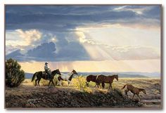 "Tim Cox - Western Art ""Between Heaven and Earth"