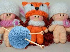 Куклы крючком с описанием и схемами для профессионалов