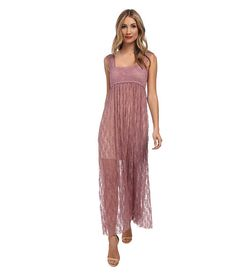 bd3394d75e4 Free People Romance in the Air Maxi Slip Black - 6pm.com My Wardrobe