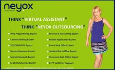 At Neyox Outsourcing, you can hire virtual assistant in India, hire virtual employee India, hire virtual staff India and hire Indian professionals for various professions like: web design services, web development services, search engine optimization (SEO) services, copy writing services, data extraction services, email marketing services and other services. Visit: www.neyox.com