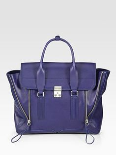 gorgeous structured satchel witha  twist from 3.1 Phillip Lim, one of my favorite designers!
