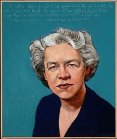 """The right to criticize: the right to hold unpopular beliefs; the right to protest; the right of independent thought. The exercise of these rights should not cost one single American citizen his reputation or his right to a livelihood…Otherwise none of us could call our souls our own."" - Margaret Chase Smith, Senator from Maine (1897-1995) 