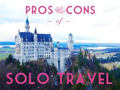pros cons travelling solo