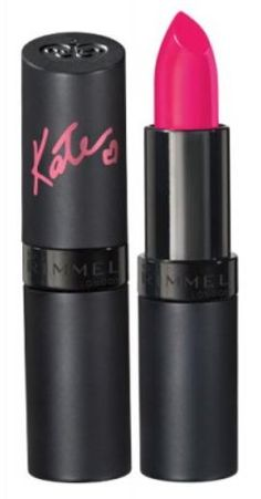 Anything Kate Moss approved we already love, and her own lipsticks for Rimmel London are no exception. The lipsticks are all identified by numbers, and this hot pink is Crazy Lipstick, Mood Lipstick, Perfect Lipstick, Gloss Lipstick, Lipstick Colors, Makeup Lipstick, Best Pink Lipstick, Matte Lips, Best Drugstore Lipstick