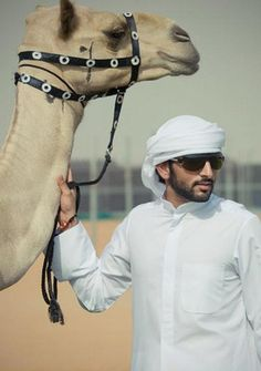 "Crown Prince charming Hamdan ""Fazza"" of Dubai"