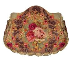 Michal Negrin Leather Handle Bag with Roses Printed Velvet Design, Embroidery Lace and Beaded Strips, Swarovski Crystals and Glitter Michal Negrin,http://www.amazon.com/dp/B00815RTYG/ref=cm_sw_r_pi_dp_a6Vlsb0S1XGKN71W