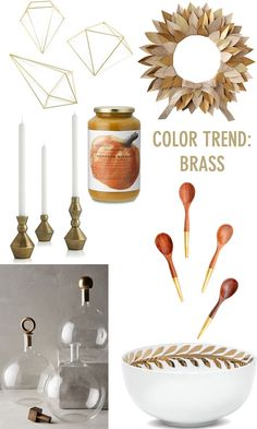 color trend: brass // twin stripe