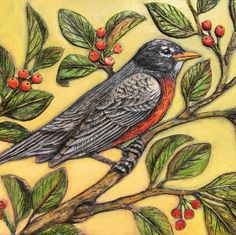 Out of My Mind — Rogene Manas Mixed Media Artist Paper Clay Art, Bird Doodle, Bird Artwork, Clay Animals, Pretty Birds, Mixed Media Artists, Art Projects, Project Ideas, Artist At Work