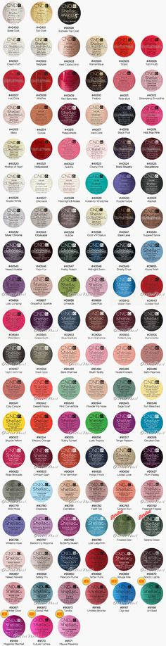 outletnail items - Get great deals on CND Shellac Color Chart items on eBay Stores!