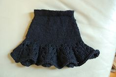 Ravelry: Lacy Flouncy Skirt for American Girl Doll pattern by Kristen Renneker
