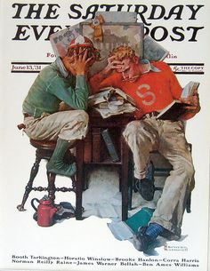 Norman Rockwell ~ June 13, 1931 Edition: The Saturday Evening Post