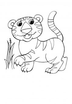 Circus Tiger Coloring Page From Tigers Category Select 28415 Printable Crafts Of Cartoons Nature Animals Bible And Many More