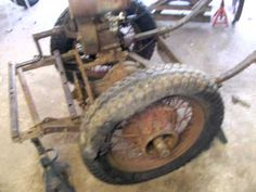 Make A Walk Behind Homebuilt Tractor Out Of Old Car Parts
