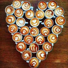 """I was going to go back to sleep this morning but then I got distracted by Pinterest and pinning coffee whilst drinking coffee ☕️ - Africa's Finest Coffee and Tea (@africoffea) on Instagram: """"A heart of hearts 💕"""""""