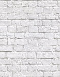 """• Design Name: Soft White Bricks  • Product Code: KEM035W  • Roll Dimensions: 70cm (27"""") x 10m (32ft 9"""")  • Vertical Repeat: 89.4cm (35.2"""")  • Pattern Match: Straight Match    Overview:    • Heavy-duty domestic wallpaper  • Colourfast and washable with a soft cloth  • 'Paste The Wall' application  • Order ships in 10-14 days"""