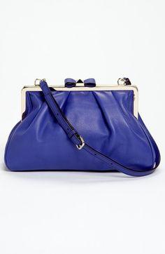 kate spade blue bag love