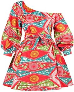 Panier African Dresses For Women, African Print Dresses, African Fashion Dresses, Fashion Outfits, Dashiki Dress, Ankara Dress, Africa Fashion, Coral Turquoise, Traditional Outfits
