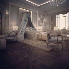 Master bedroom suite - Abu Dhabi private palace- UAE