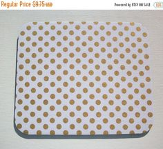 SALE  Mouse Pad mousepad / Mat  round or rectangle  by Laa766  chic / cute / preppy / computer, desk accessories / cubical, office, home decor / co-worker, student gift / patterned design / match with coasters, wrist rests / computers and peripherals